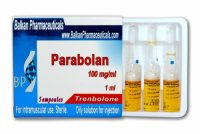 Parabolan (Trenbolone Hexa) by Balkan Pharmaceuticals