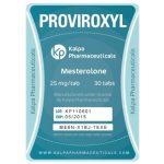 Proviroxyl (Mesterolone) by Kalpa Pharmaceuticals