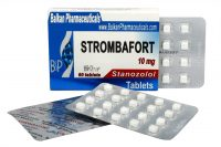 Strombafort (Oral Stanozolol) by Balkan Pharmaceuticals