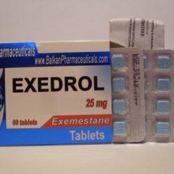 Exedrol (Exemestane) by Balkan Pharmaceuticals